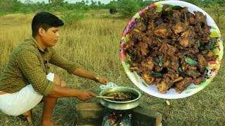 Pepper Chicken Recipe   Cooking and eating Village Food പെപ്പർ ചിക്കൻ