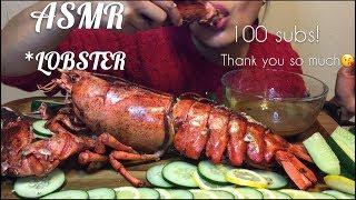 ASMR LOBSTER (Eating Sounds) No Talking