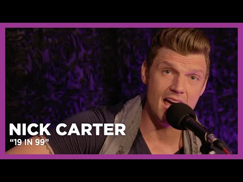 Nick Carter Performs '19 in 99' Live at KiSS 92.5