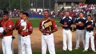 13-year-old Babe Ruth World Series team introductions.mp4