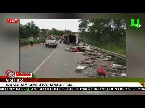 ONE DEAD, 15 INJURED IN KINTAMPO-TECHIMAN HIGHWAY CAR CRASH