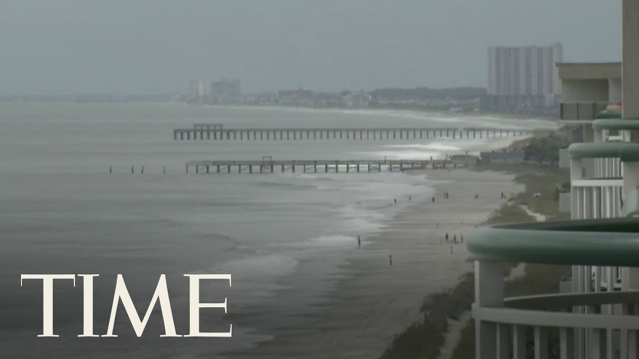 Footage From Sullivan's Island, SC and Southport, NC As Hurricane Florence Approaches | LIVE | TIME image