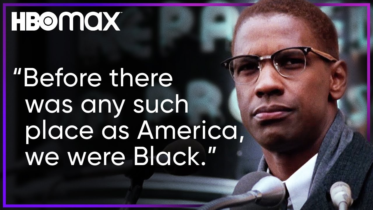 Download Denzel Washington Delivers Malcolm X's Powerful Speech   HBO Max