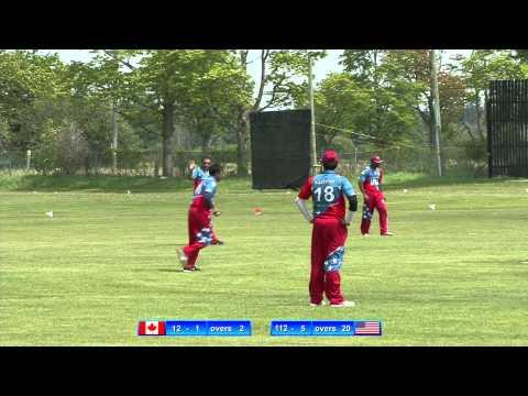 2015 05 24 - 3/3 - Canada vs USA College All Star Cricket Match