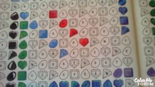 Word Search And Color - Gemstone Party - Apatite!