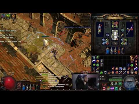 Path of Exile - 3.0 Beta | Poison Berserker Trapper & My Thoughts on Poison in the current beta