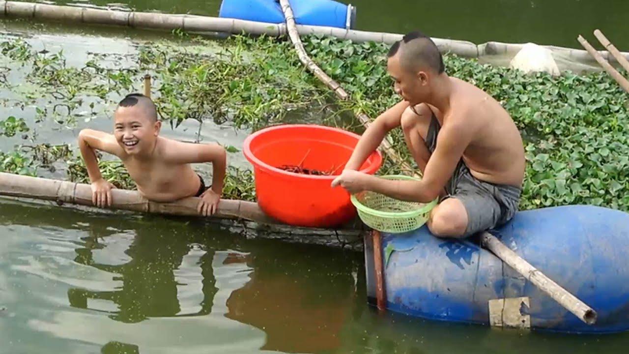 Ốc Nhôi nướng - Lần Đầu Đi Mò Ốc Dễ Như Bắt Cá Trong Chậu