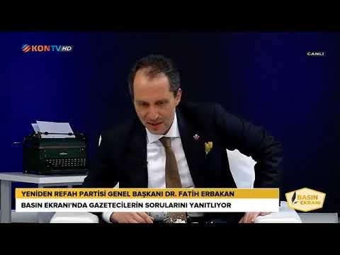 Fatih Erbakan, KONTV'de Açıklamalarda Bulundu
