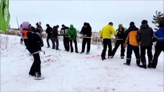 Экстрим снегоходы Снежная поляна