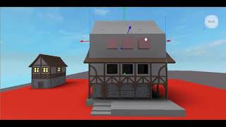 Roblox Medival House Speed build (Part 2)