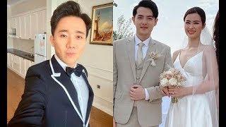 ✅  Đám cưới Đông Nhi - Ông Cao Thắng nhưng Trấn Thành lại chiếm spotlight với câu nói gây sốc
