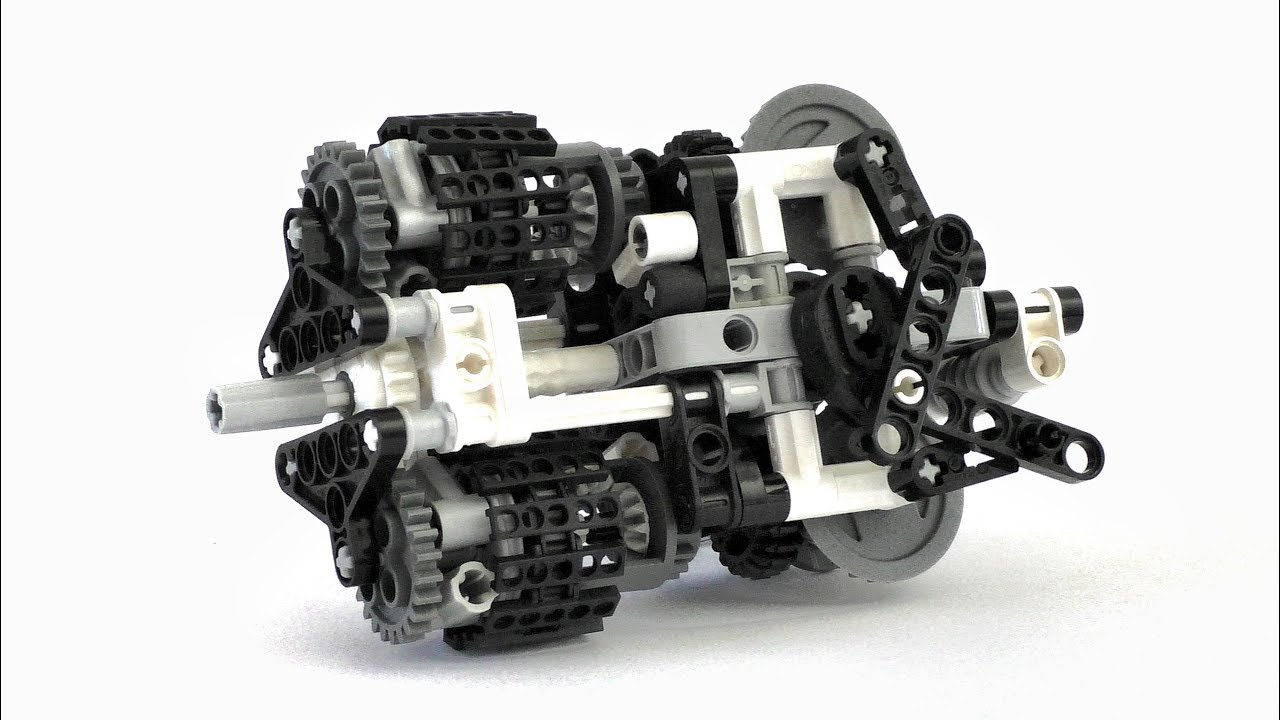 Lego Technic Differential CVT Transmission   Lego Technic Mastery     Lego Technic Differential CVT Transmission   Lego Technic Mastery