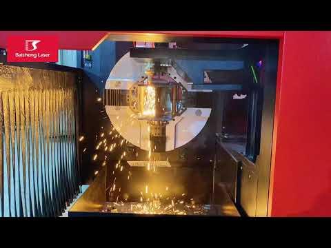F6035GE 3000W - Monstro! Industrial Laser para Corte de Tubos Perfil Perfis