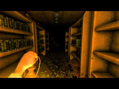 Amnesia: The Dark Descent Walkthrough Ep. 3 The Library puzzle