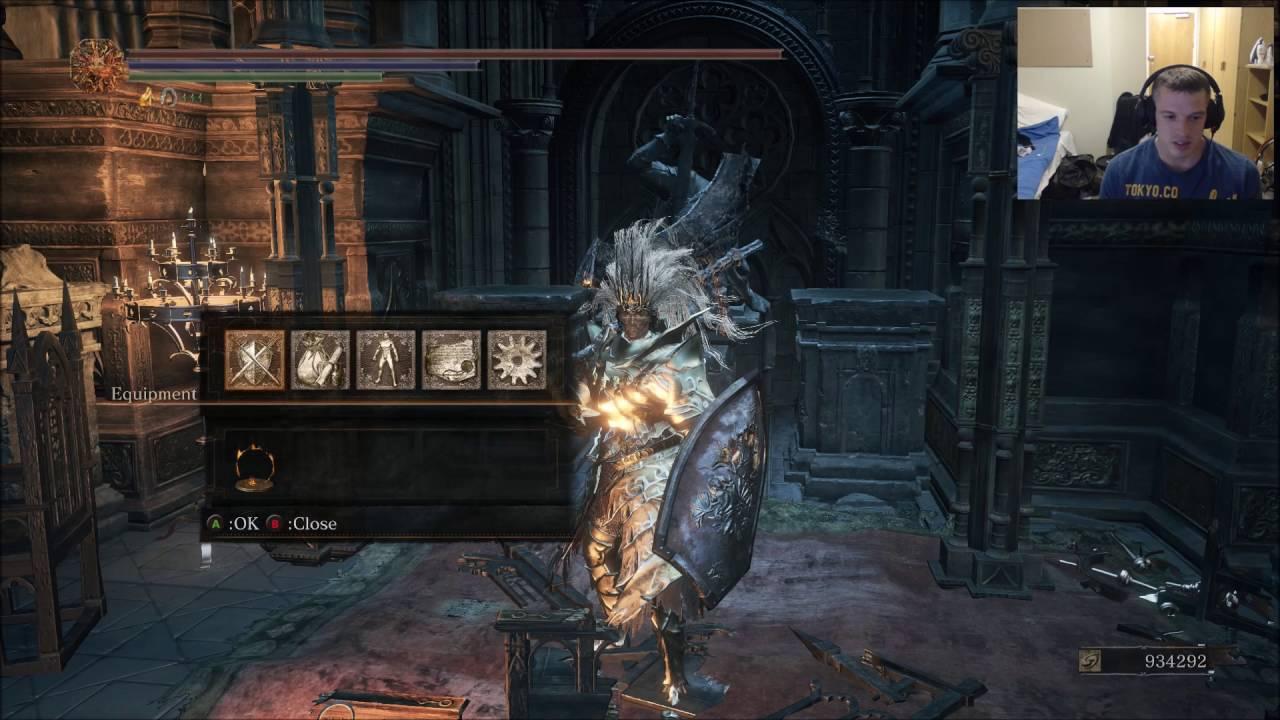 Dark Souls 3 STR/FAITH Build 1400+ DAMAGE pve/pvp