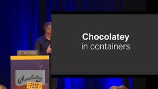 Docker - Container Voll Schokoladig - Stefan Scherer, SEAL Systems AG - Schokoladig, Fest 2018