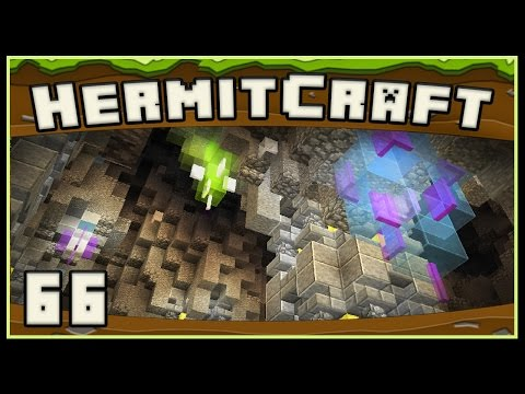HermitCraft 4 - Minecraft:  This Should Be A Real Cave Biome Design