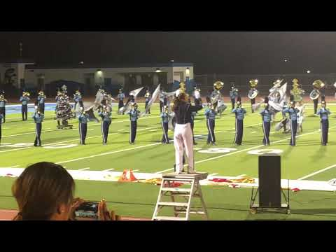 Walnut High School Marching Band Performance at San Gorgonio High School