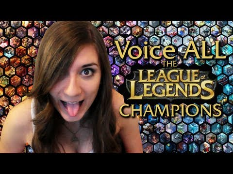 voice all the league of legends champions youtube. Black Bedroom Furniture Sets. Home Design Ideas