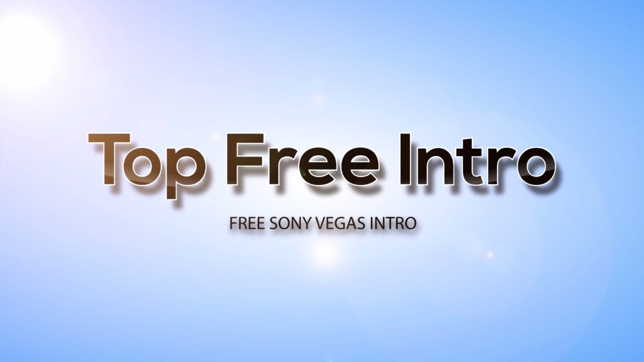 sony vegas pro 14 intro templates free download