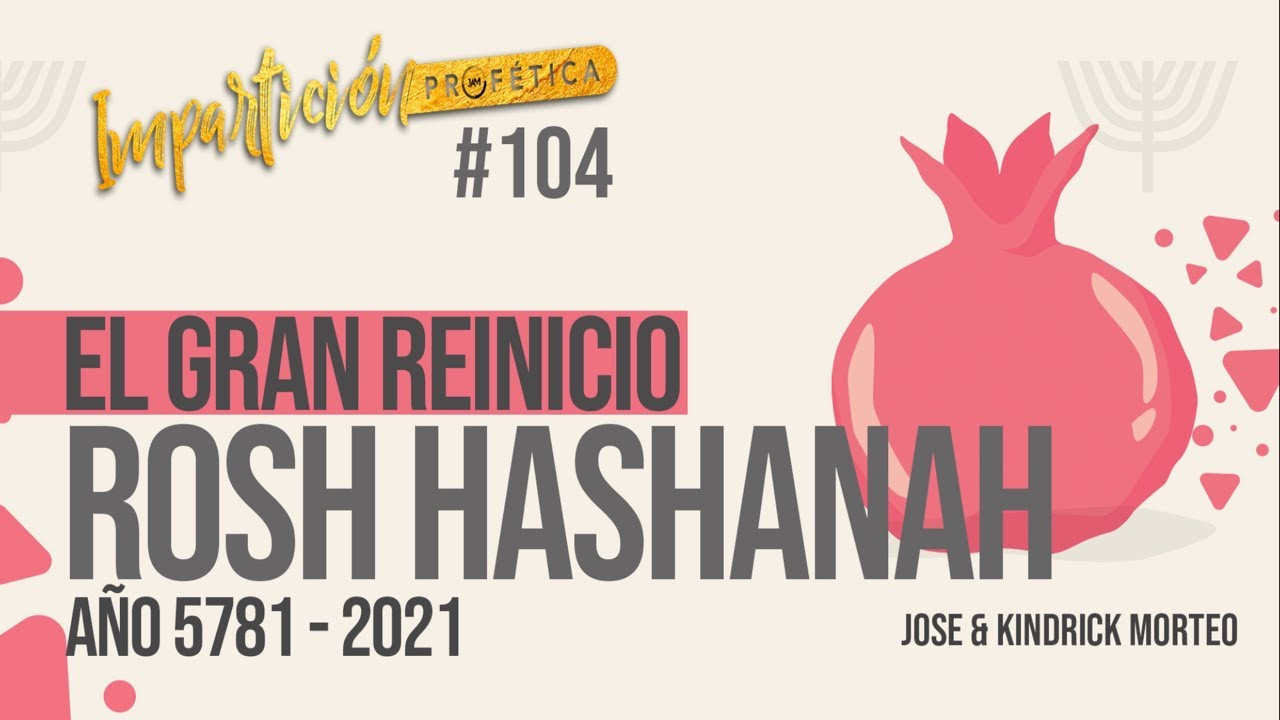 ROSH HASHANAH 5781/2021 Qué está hablando Dios?