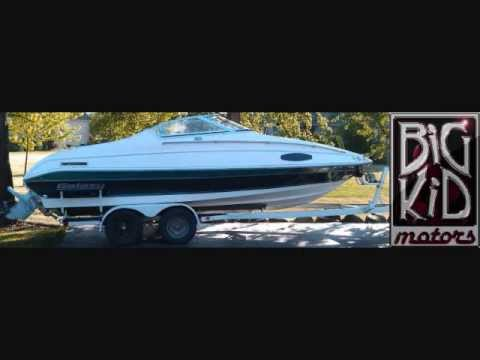 1991 21 Galaxy Cuddy Cabin Boat And Trailer For Sale Youtube