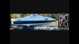 1991 21' Galaxy Cuddy Cabin Boat and Trailer for Sale