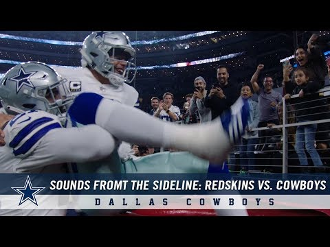 Sounds from the Sideline: Week 12 Dallas Cowboys vs. Washington Redskins | Dallas Cowboys 2018
