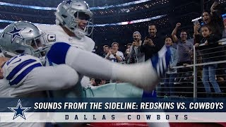 Sounds from the Sideline: Week 12 Dallas Cowboys vs. Washington Redskins | Dallas Cowboys 2018