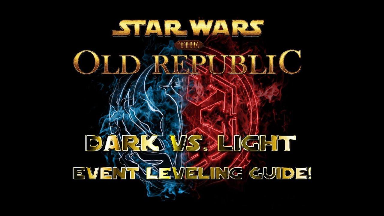 SWTOR Light vs Dark Event Info Guide - Dulfy