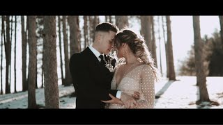 Dreamy + Boho Vibes In This Enchanting Winter Elopement in Upstate, NY // Official Teaser Trailer!