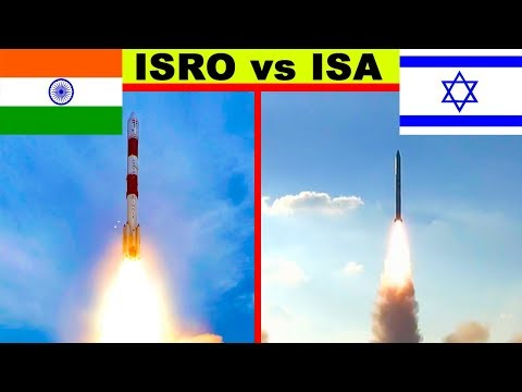 ISRO vs Israel Space Agency (2018)