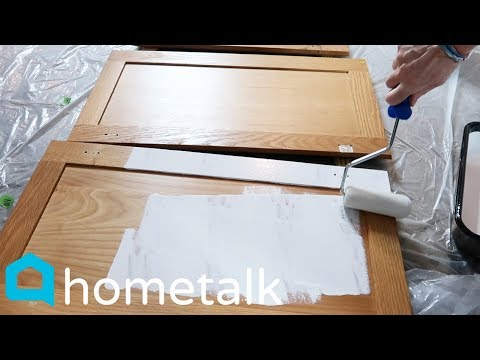 DIY Painted Kitchen Cabinets - Dramatically Transform Your Kitchen For Under $100 | Hometalk