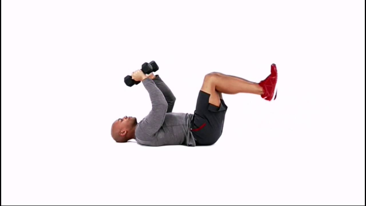 Triceps Crunch Exercise - YouTube e819f0606d4