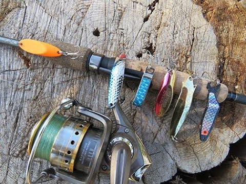 Kellogg Outdoors Video Podcast Episode 8: Plugging For Trout With Spoons
