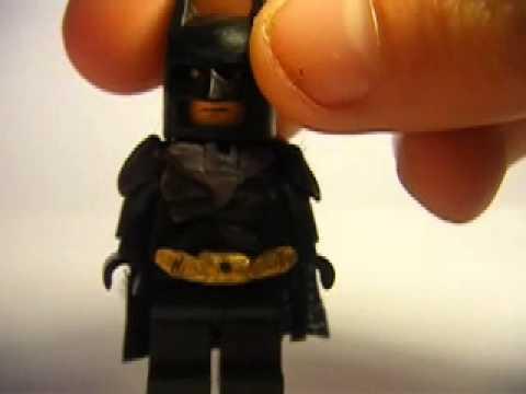 custom lego dark knight rises batman - YouTube