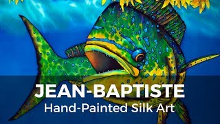BASIC BATIK SILK PAINTING TECHNIQUES OF JEAN-BAPTISTE | MAHI MAHI
