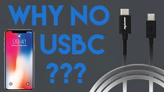Why Don't iPhones Have USB-C?