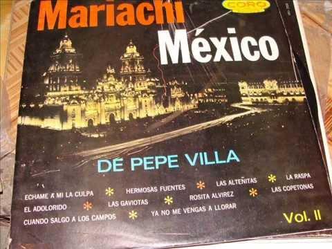 LA RASPA - Mariachi México de Pepe Villa