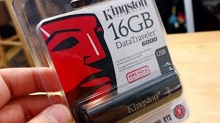 Review: Kingston DataTraveler 6000 Hardcore Military-Grade Encryption for your Flash Drive