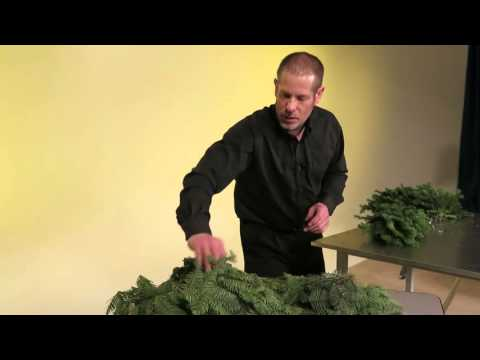 Mitchell Wreaths, Part 5 Of 6 (Candy Cane Wreath Making)