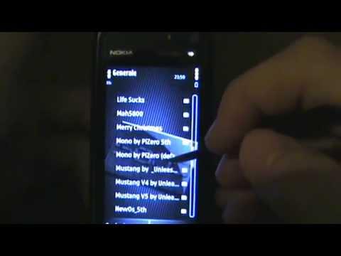 Nokia 5800 Xpress Music - Themes