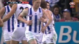 Brent Harvey celebrates his 400th in style - AFL