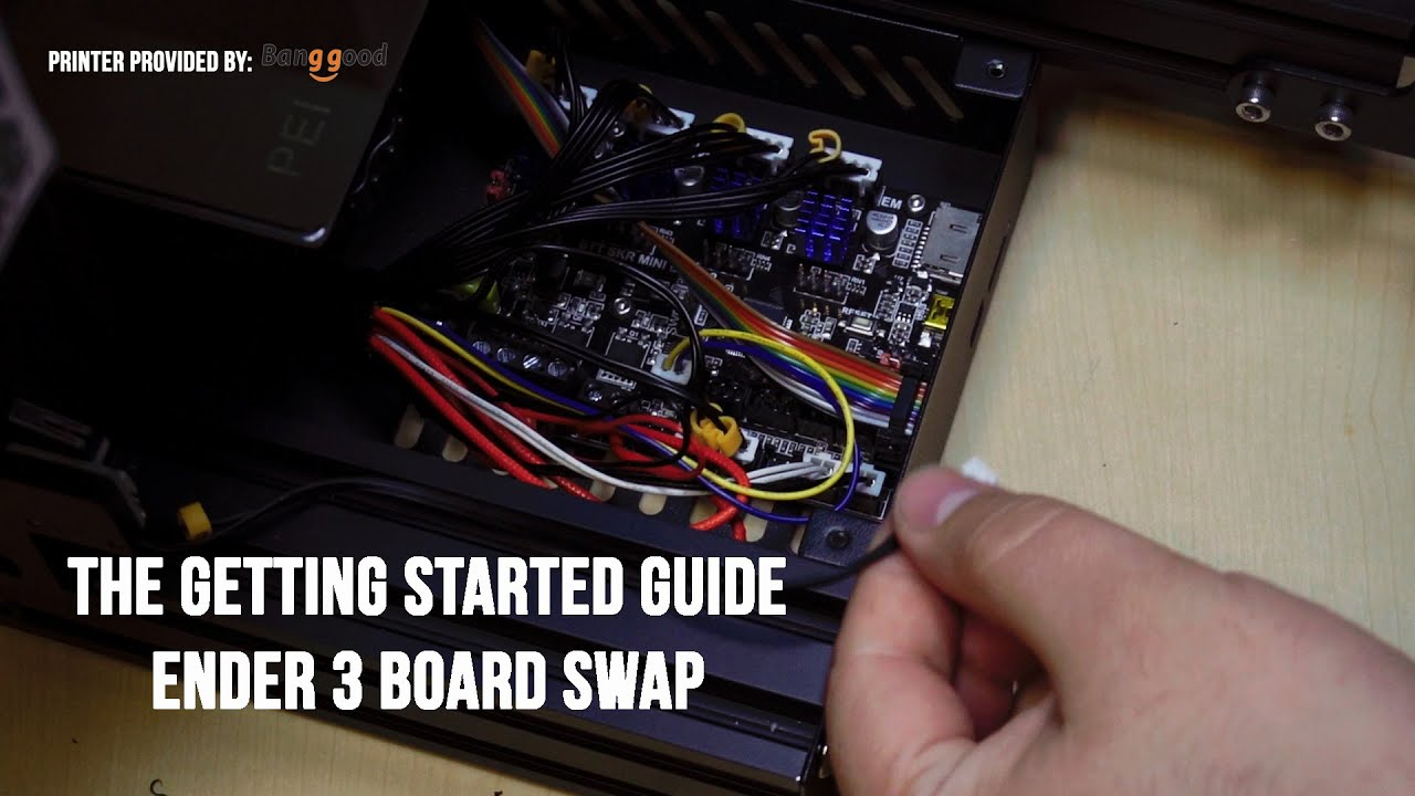 Getting Started 1 - Ender 3 SKR Mini E3 Board swap