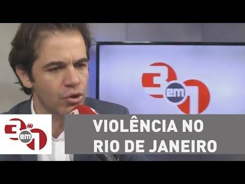 Violência No Rio De Janeiro: PM E Forças Armadas Fazem Operação Na Rocinha
