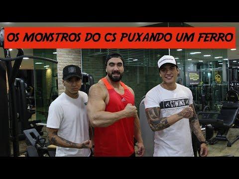 OS MONSTROS DO CS TREINANDO COM RENAN