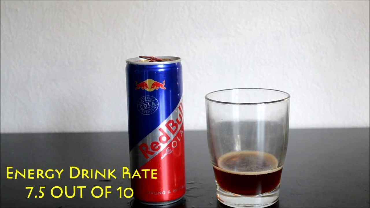 Redbull Cola - Energy Drink Review - YouTube