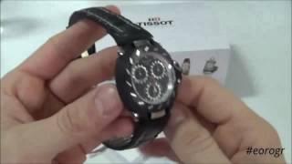 TISSOT T-Race Black Stainless Steel Chronograph T0114172220100
