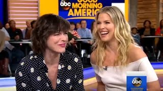 Resident Evil: The Final Chapter | Milla Jovovich, Ali Larter Interview