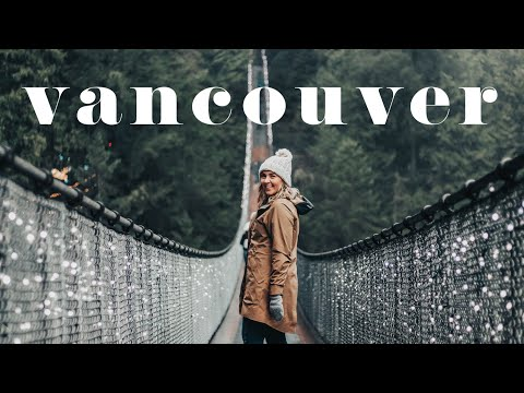Spontaneous Road Trip To Canada | Vancouver At Christmastime